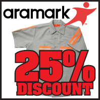 Save Up to 25 Percent with Aramark Uniform Program